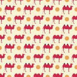 Camel pattern Stock Image