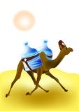 Camel - rescuer Royalty Free Stock Photos