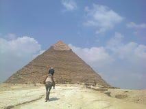 Pyamids of Egypt stock photos
