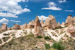 Camel rock in Cappadocia Royalty Free Stock Image