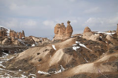 Camel rock at Cappadocia Turkey Stock Images
