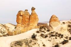Camel rock in Cappadocia, Turkey Stock Photos