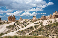 Camel Rock In Cappadocia Stock Images