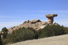 Camel Rock New Mexico Stock Photo