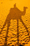 Camel Shadow, Rajasthan, India Stock Photo