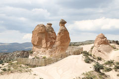 Camel Shaped Rock Formation in Devrent Valley, Cappadocia Stock Photos