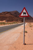 Camel sign stock photography