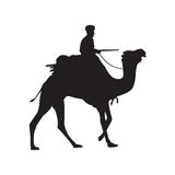 Camel Silhouette Stock Images