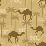 Camel and snake Military camouflage background.   Royalty Free Stock Photos
