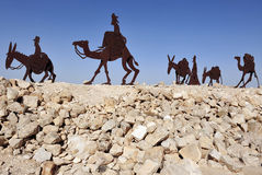 Free Camel Statues In The Negev, Israel Royalty Free Stock Photos - 16966308