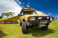 Camel Trophy Land Rover Stock Photography