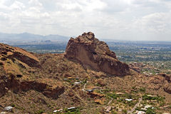 Camelback Hike Stock Photography
