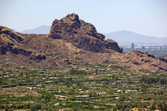 Camelback Mountain Royalty Free Stock Photography