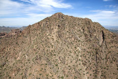 Camelback Mountain Royalty Free Stock Photos