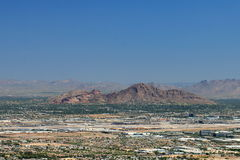 Camelback Mountain in Phoenix, Arizona Stock Images