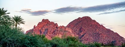 Free Camelback Mountain Phoenix Arizona USA Stock Photography - 132109732