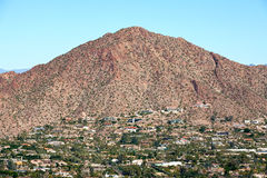 Camelback Mountain Stock Image