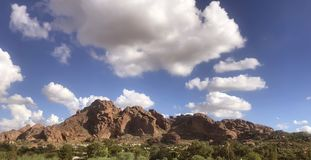 Camelback Mountain west side viewpoint, Phoenix, royalty free stock photography