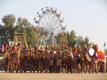 Camelfair, Jaisalmer, India Stock Photos