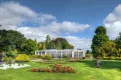 Camellia House, parco di Wollaton, Nottingham, Regno Unito immagini stock