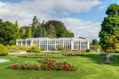 Camellia House, Wollaton Park, Nottingham, UK.  Royalty Free Stock Photography