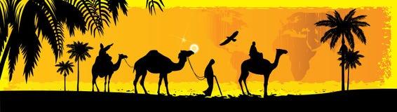 Camello Stock de ilustración