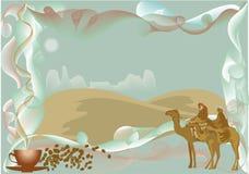Camellos ilustración del vector