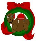 Camelo do Natal ilustração do vetor
