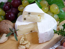 Camembert. Cheese Stock Photos