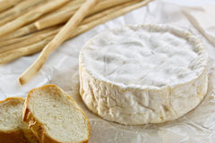 Camembert cheese Stock Photo