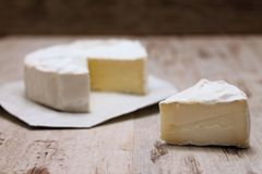Camembert cheese Stock Photos