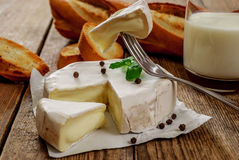Camembert cheese Stock Images