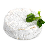Camembert Cheese Isolated Royalty Free Stock Image