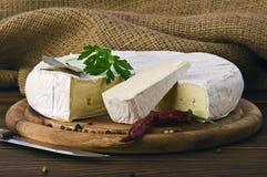 Camembert cheese. Royalty Free Stock Photo
