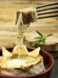 Camembert cotto Immagine Stock Libera da Diritti