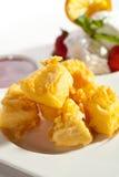 Camembert della tempura Fotografie Stock