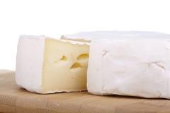 Camembert e salame squisiti Immagini Stock