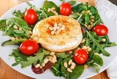 Camembert fritto Fotografia Stock Libera da Diritti