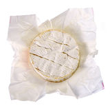 Camembert in a paper box Royalty Free Stock Photo