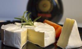 Camembert w compozition obraz stock