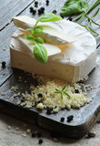 Camembertkäse Stockfoto