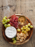 Camemmbert (brie) cheese Royalty Free Stock Images