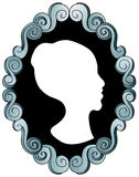 Cameo. An image of a cameo portrait Royalty Free Stock Photo