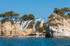Cameo Agios Sostis, small island in Zakynthos, Greece Royalty Free Stock Photo