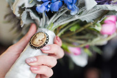 Free Cameo Brooch Stock Photo - 38987960
