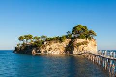 Cameo Island in Zakynthos Zante island, in Greece. Cameo Island in Zakynthos Zante island in Greece royalty free stock photos