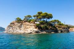 Cameo Island in Zakynthos Zante island, in Greece. Cameo Island in Zakynthos Zante island in Greece Royalty Free Stock Photo