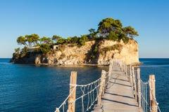 Cameo Island in Zakynthos Zante island, in Greece. Cameo Island in Zakynthos Zante island in Greece Stock Photography
