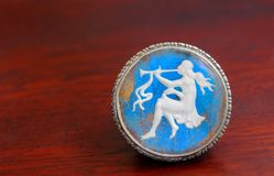 Cameo pin Royalty Free Stock Photography