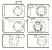 Camer de los iconos Fotos de archivo